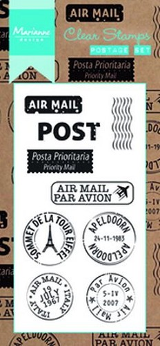 Clearstamp postage set