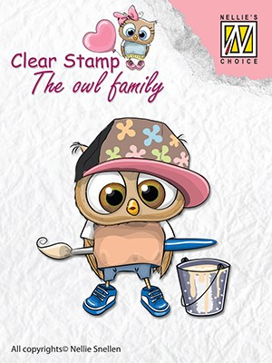 Clearstamp the owl Family: Artist