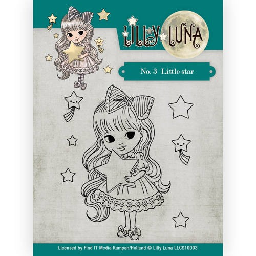 Clearstamp Lilly Luna no.3 little star