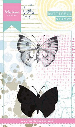 Clearstamp Cling stamp Tiny`s Butterfly 1
