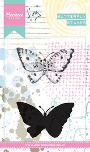 Clearstamp Cling stamp Tiny`s Butterfly 2