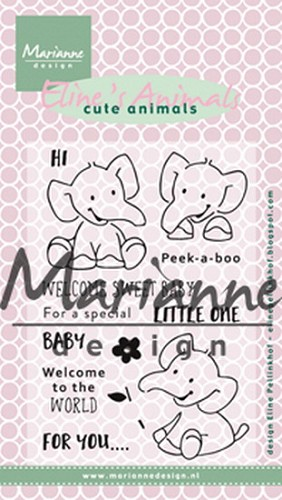 Clearstamp Eline`s Elephant